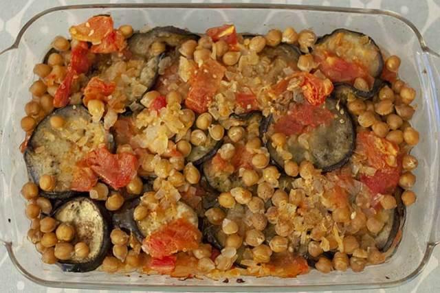moussaka libanaise vegetarienne