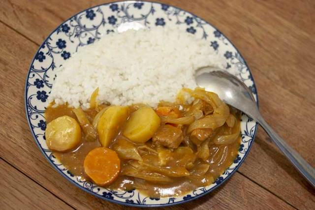 curry japonais kare raisu