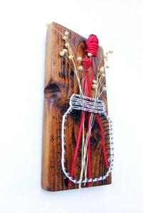 tablou stringart lemn