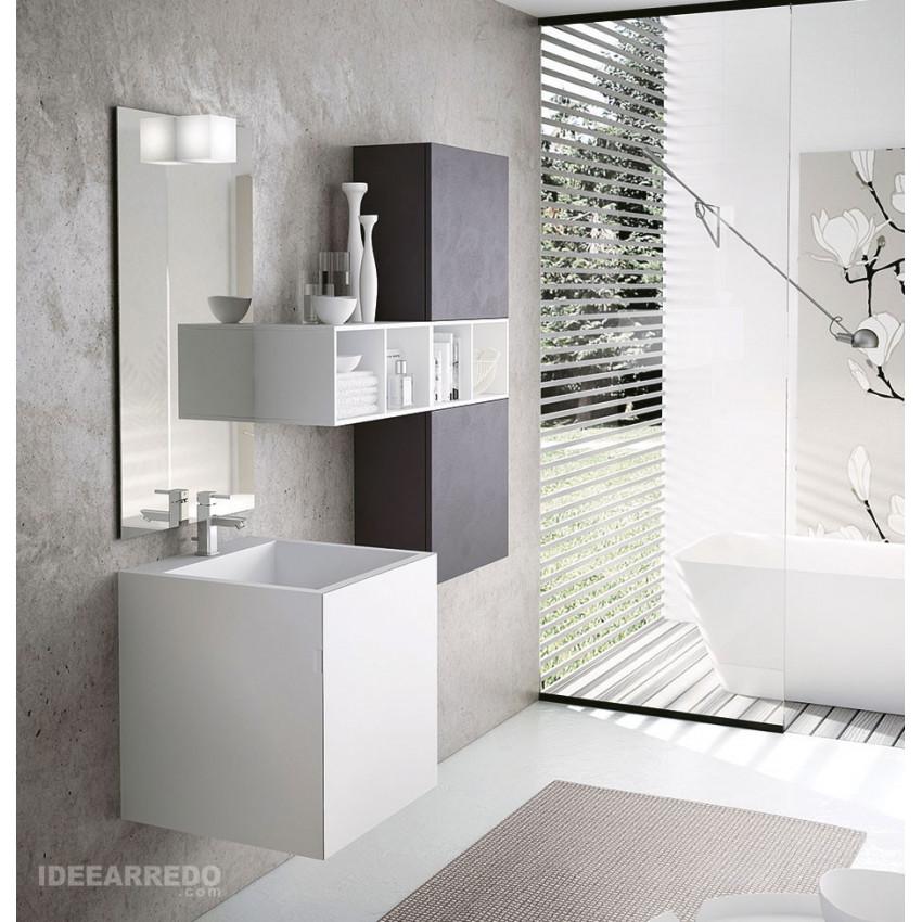 Meuble De Salle De Bain Vasque Design Monobloc 50 Funky Bmt