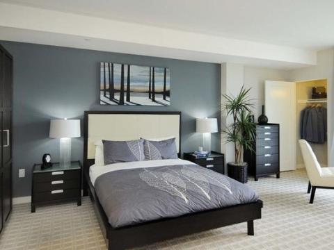 Voleva decorare le pareti della camera da letto in modo da cambiare il look e vivacizzare la stanza. Dipingere Pareti Camera Da Letto Esposizjone E Colori Del Mobilio