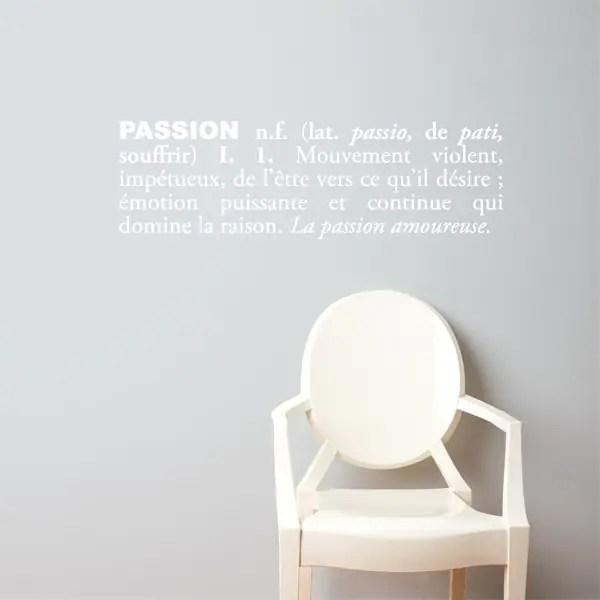 Citation Passion Ide Cadeau Qubec