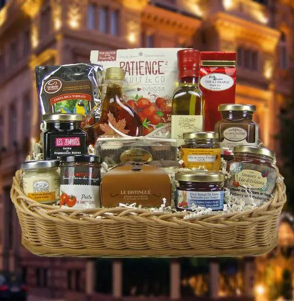 Panier Gourmand Reconnaissance Ide Cadeau Qubec