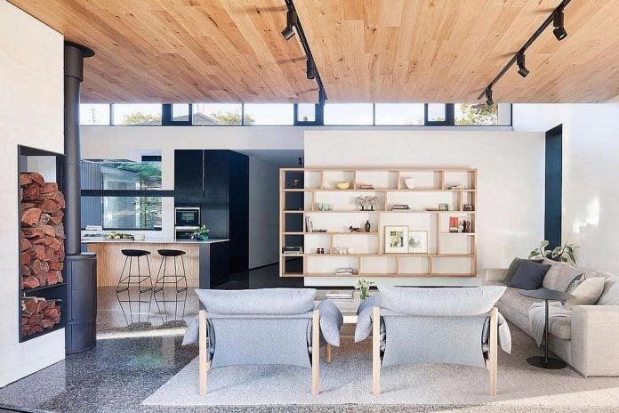 Mobili soggiorno dior gihome ® rovere bianco porta tv parete attrezzata moderna. Cucina E Soggiorno Nella Casa Moderna La Nuova Moda E L Open Space