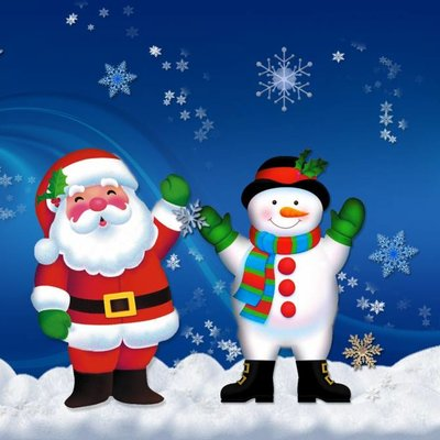 """Ora che la famiglia è per la maggior parte """"digitale"""", con tutta la parentela su whatsapp o su facebook, possiamo condividere gif, sfondi ed immagini di natale per festeggiare. Sfondi Di Natale Hd"""