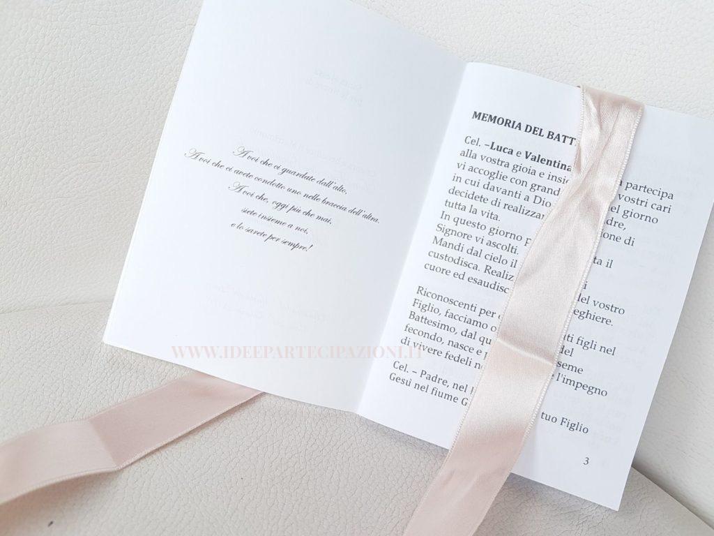 Matrimonio Simbolico Libretto : Libretto matrimonio archivi idee partecipazioni