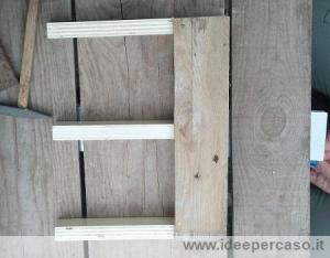 inchiodare tavole pallet legno