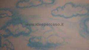 dipingere pareti effetto cielo cop