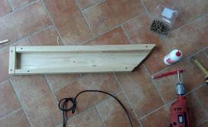 tagliare listelli di legno