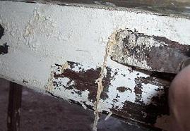 vernice ammorbidita dallo svrniciatore