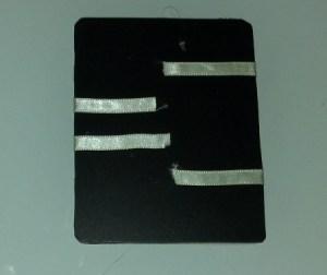 incollare nastrini del portafoglio