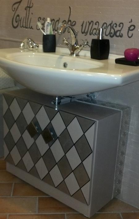 Decorare il mobile del bagno - Decorare il bagno ...