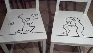 decorare vecchie sedie di casa