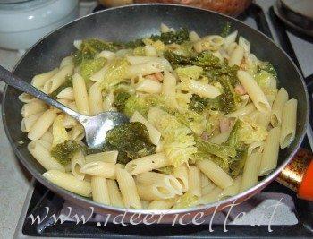 Risultati immagini per pasta verza pancetta