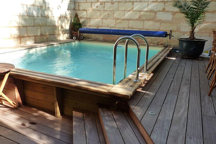 piscine bois hors sol ou enterree