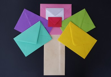 couleurs des enveloppes