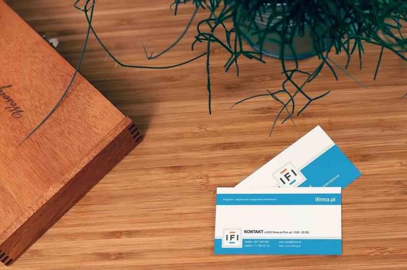 publicité papier cartes visite