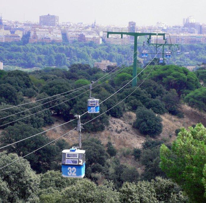 Teleferico di Madrid