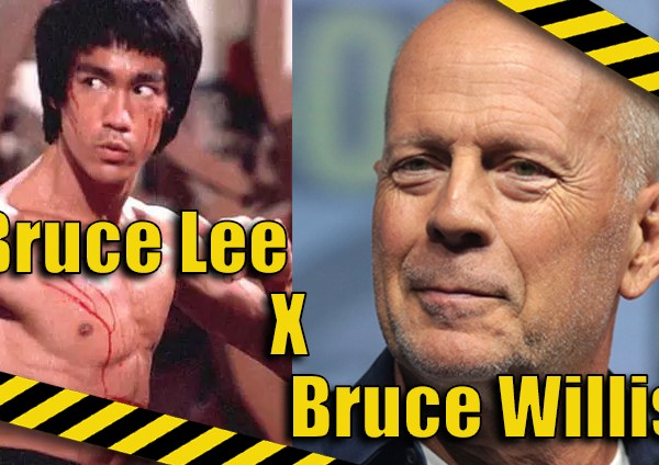 Trocando as Bolas: Bruce Willis x Bruce Lee