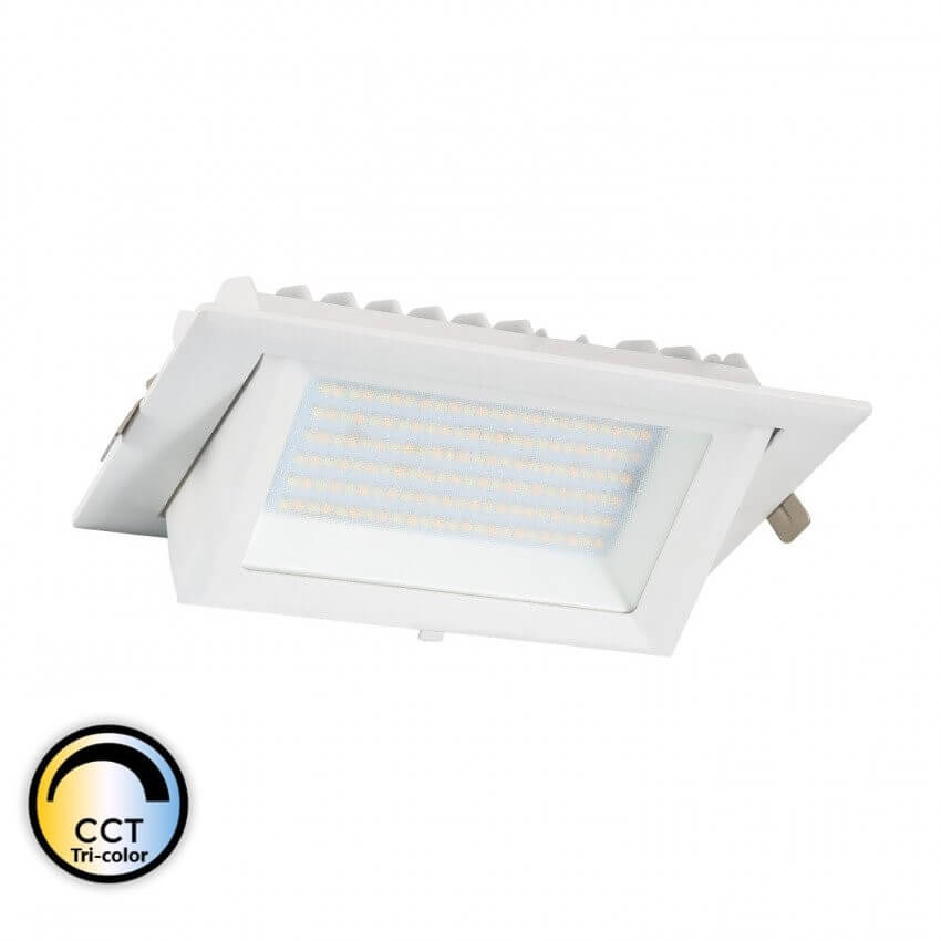 BRONX - Spot LED Rectangulaire Orientable 60W CCT