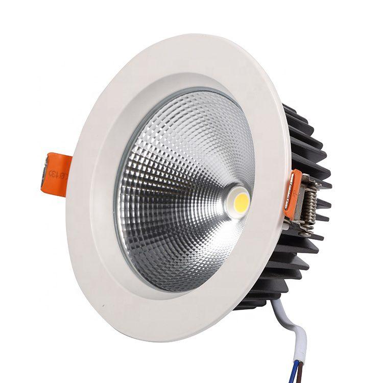 HAVANE - Spot LED COB encastrable 50W Ø215mm