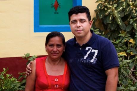 With Suyapa Serrano Cruz