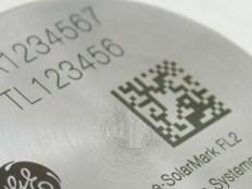 Marcação a laser em metal
