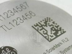 Marcação laser em metal