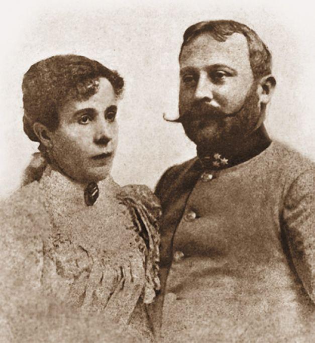 Aglaia, cu al doilea soţ