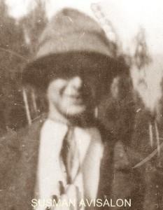 """Visalon ŞUŞMAN, din Răchiţele, fiul lui Teodor Şuşman senior, absolvent al Liceului """"Simion Bărnuţiu"""" din Cluj. 1949-1958 – membru al grupului de rezistenţă din zona Răchiţele (condus de tatăl său până în 1951)"""
