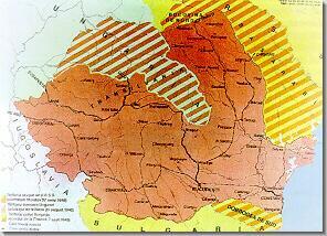 Romania in 1940