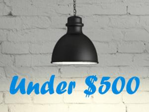 Under $500