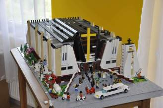 My LEGO models of warsaw Lomianki Church