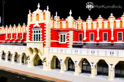 LEGO krakow - Model of lego blocks to order by Mateusz Kustra for Historyland Krakow