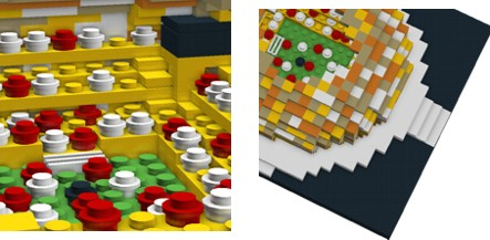 LEGO mini models and the Amber Arena Stadium in Gdansk in the World of Matt Kustra