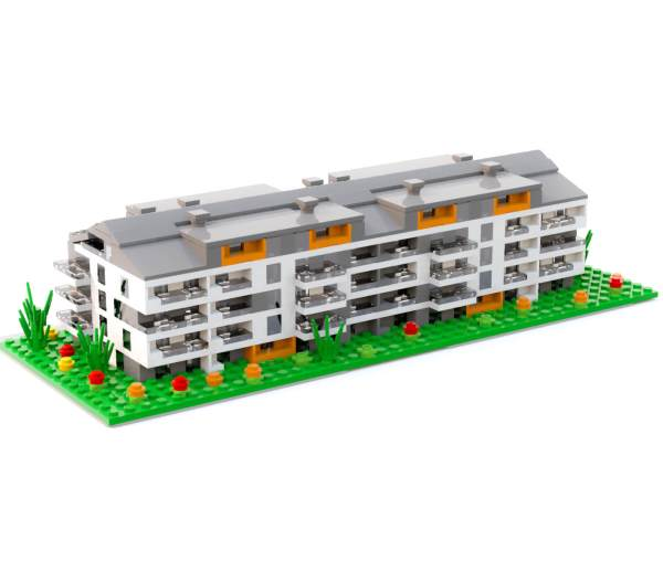 Your home made of LEGO® bricks