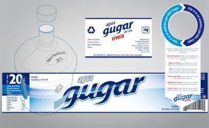 Etiqueta y sello para garrafón