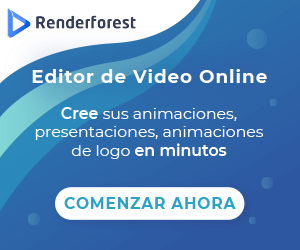 Crear videos profesionales con Renderforest