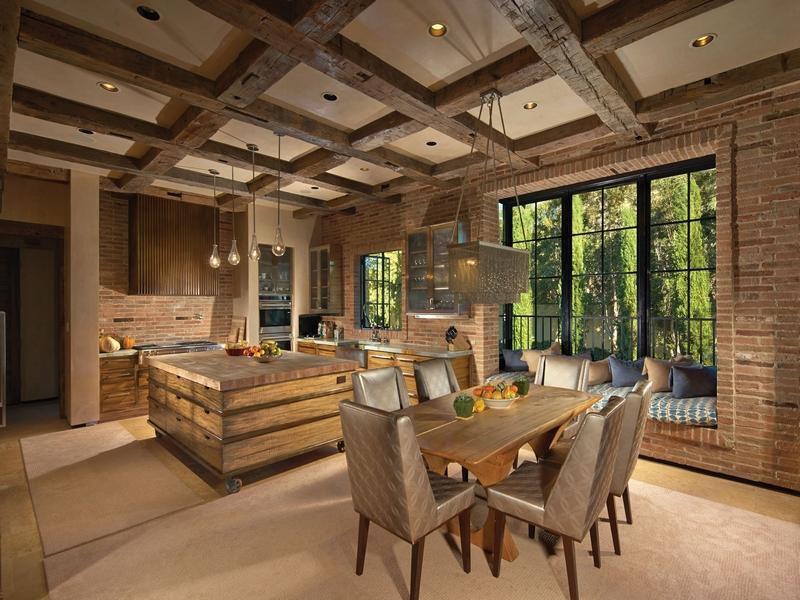 Rustic Home Interior Decorating