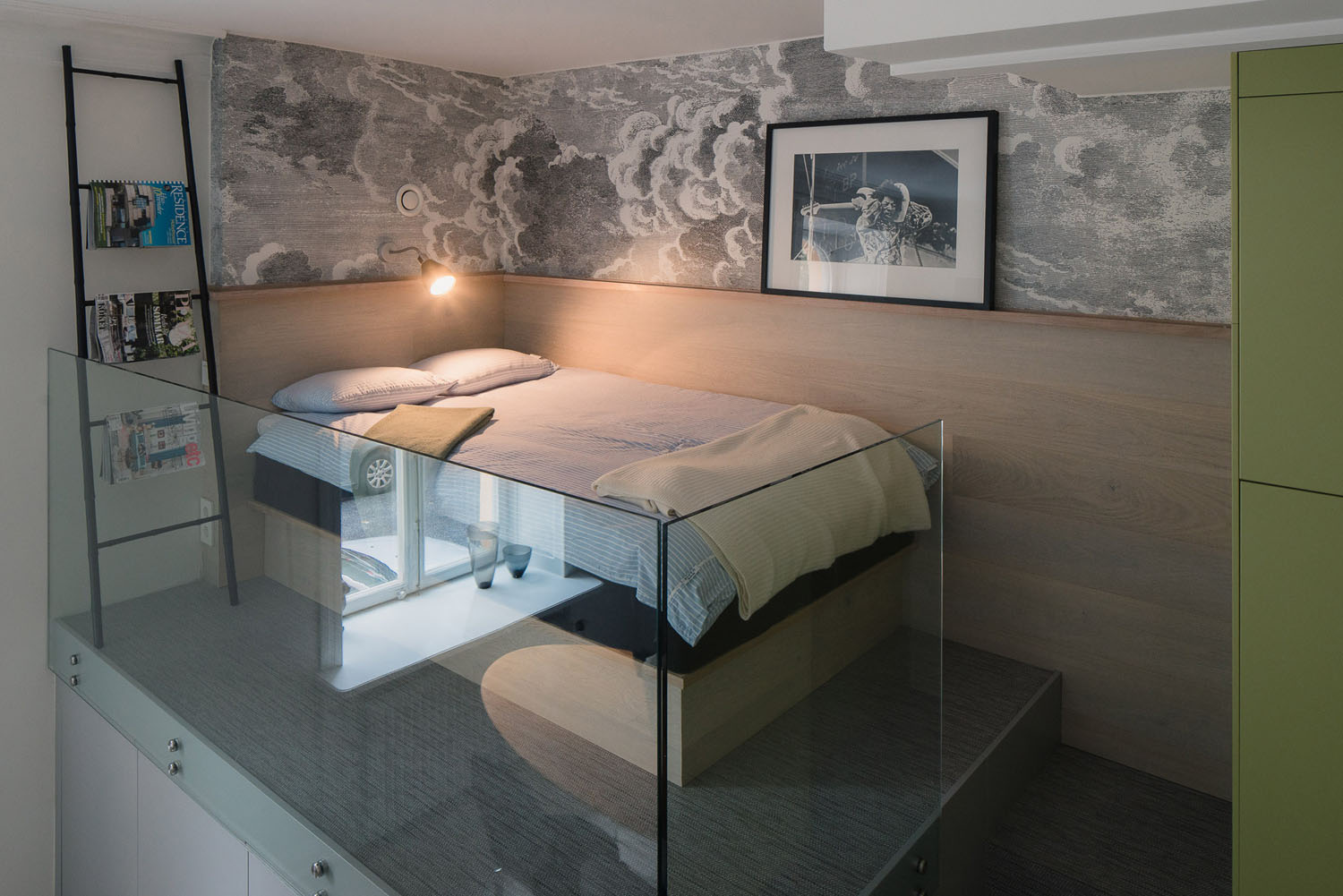 Small Studio Apartment In Stockholm With Sleeping Loft