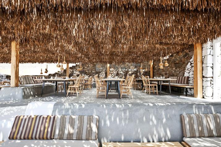 Alemagou Restaurant In Mykonos IDesignArch Interior Design Architecture Amp Interior