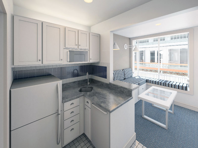 Affordable Micro Lofts In A Greek Revival Style Historic