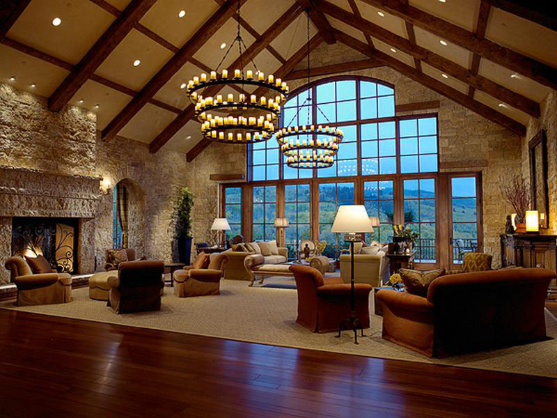 Elegant Tuscan Estate In Aspen   iDesignArch   Interior Design     Aspen Tuscan Estate