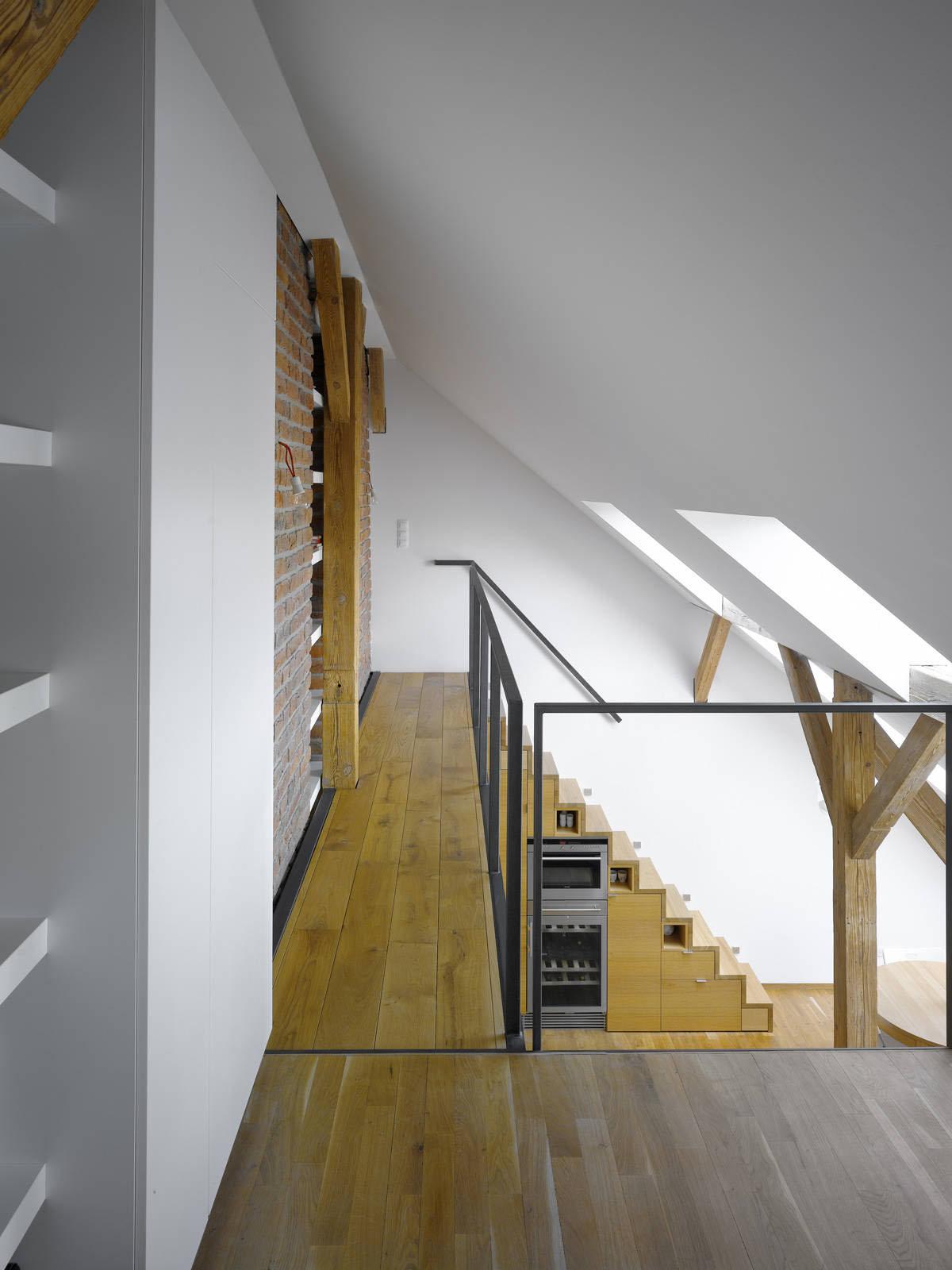 Small Attic Loft Apartment In Prague IDesignArch Interior Design Architecture Amp Interior