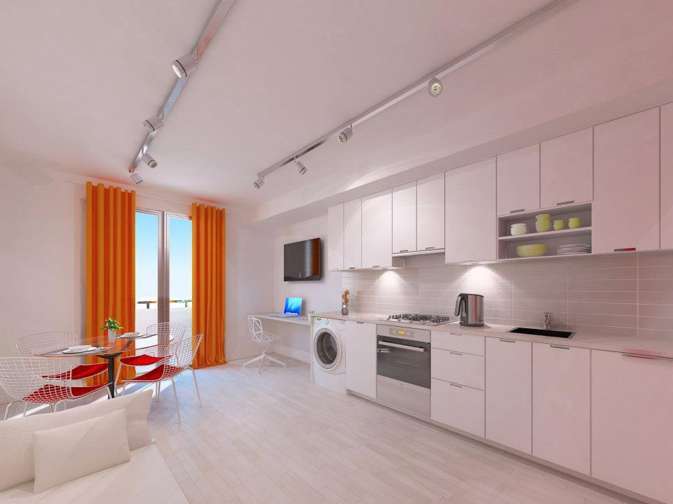 Stylish And Functional Suburban Small Condo Apartment