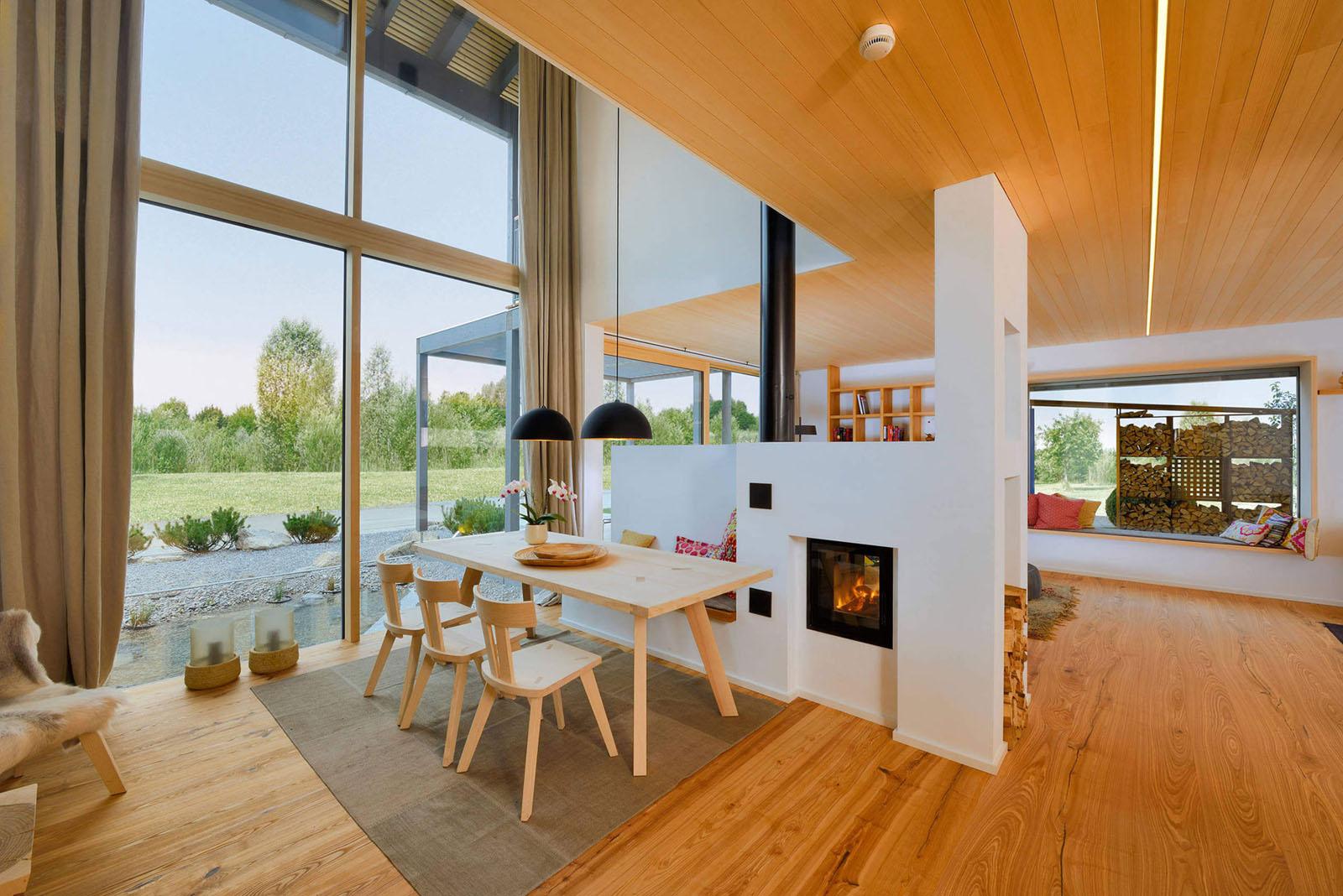 Bauhaus Inspired Energy Saving House With Modern Alpine