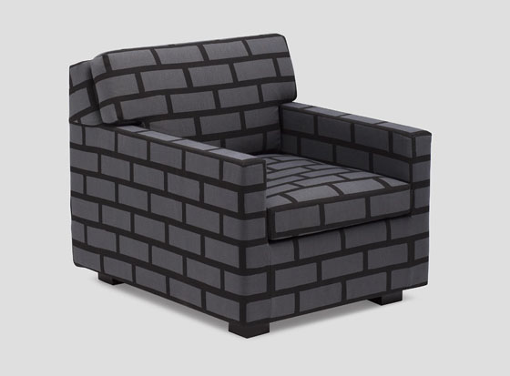Unique And Eye Catching Bricks Amp Mortar Sofa IDesignArch