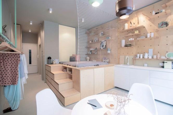 323 Square Foot Small Studio Apartment