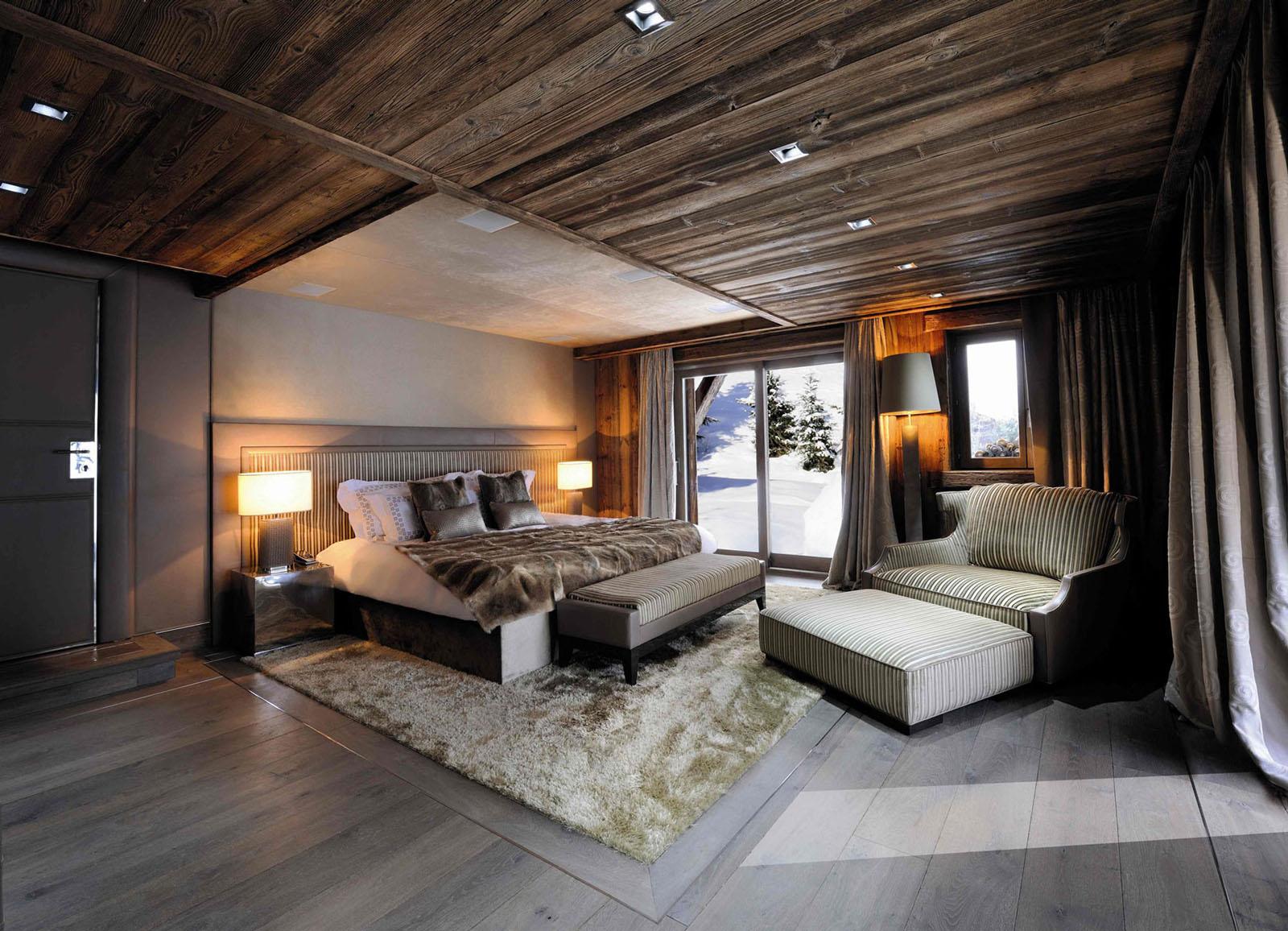 Chic Modern Rustic Chalet In The Rhne Alpes IDesignArch Interior Design Architecture