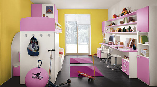 Childrens Bedrooms With Bright Cheerful Colours IDesignArch Interior Design Architecture